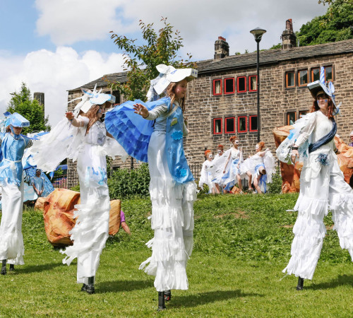 2013 Hebden Bridge Handmade Parade; Photo by Craig Shaw