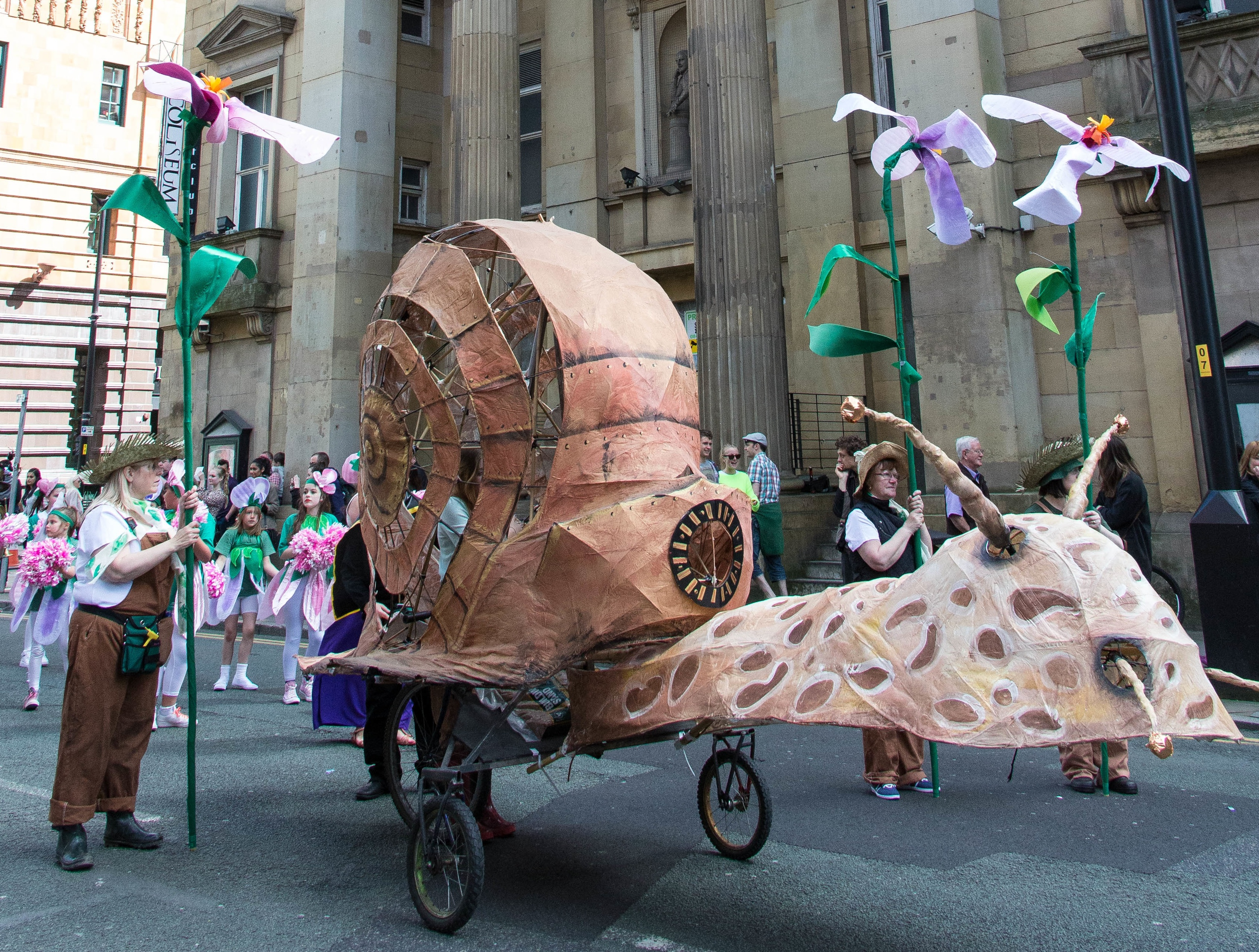 Todmorden Cycle Parade (photo from Manchester Day Parade)